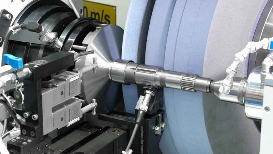 Gearbox shaft - external cylindrical grinding