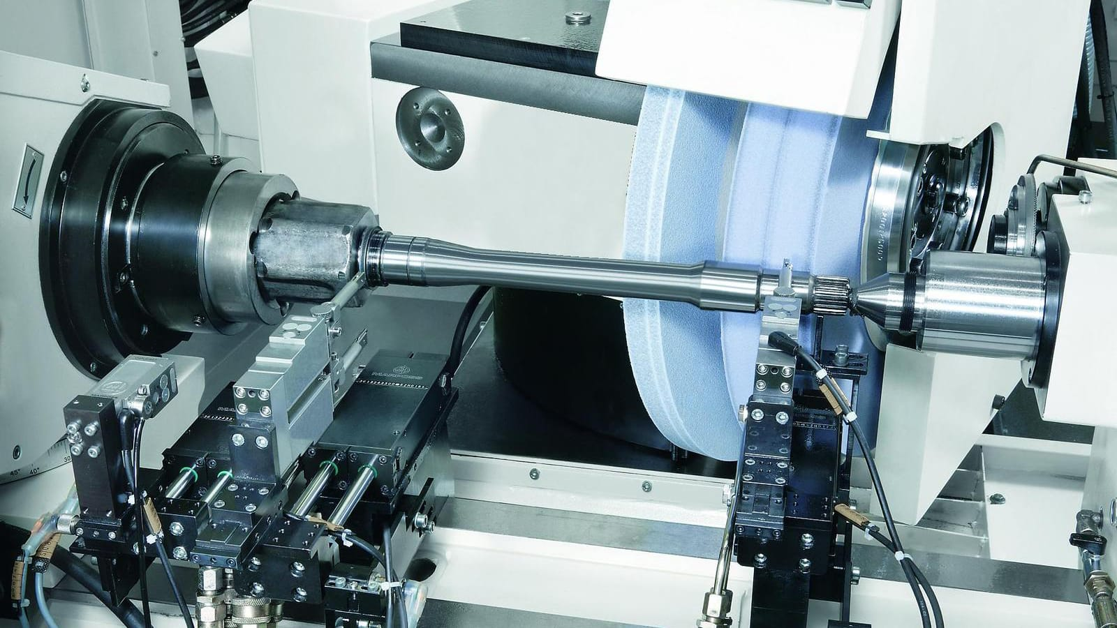 Grinding machine for CV joints