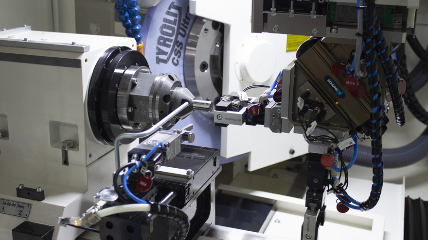 Gears - external cylindrical grinding