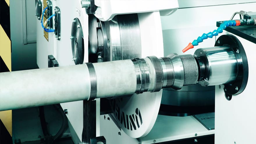 Shafts aerospace grinding machines