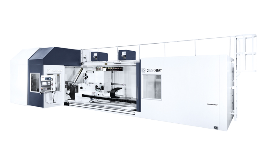 DANUNI - High precision grinding machine for aerospace landing gears