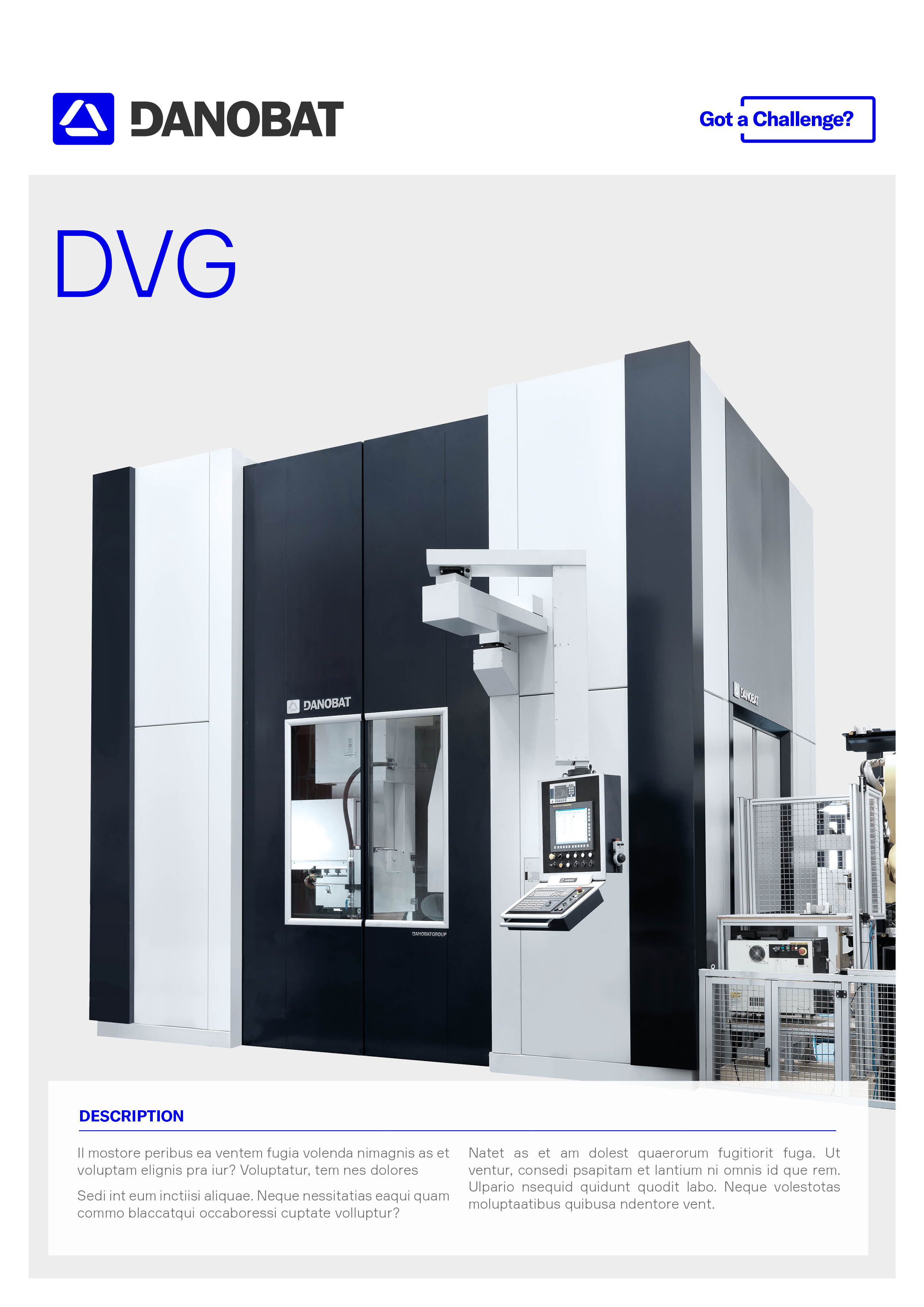 Double column vertical grinding solution