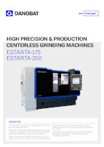 High precision & production centerless grinding machines