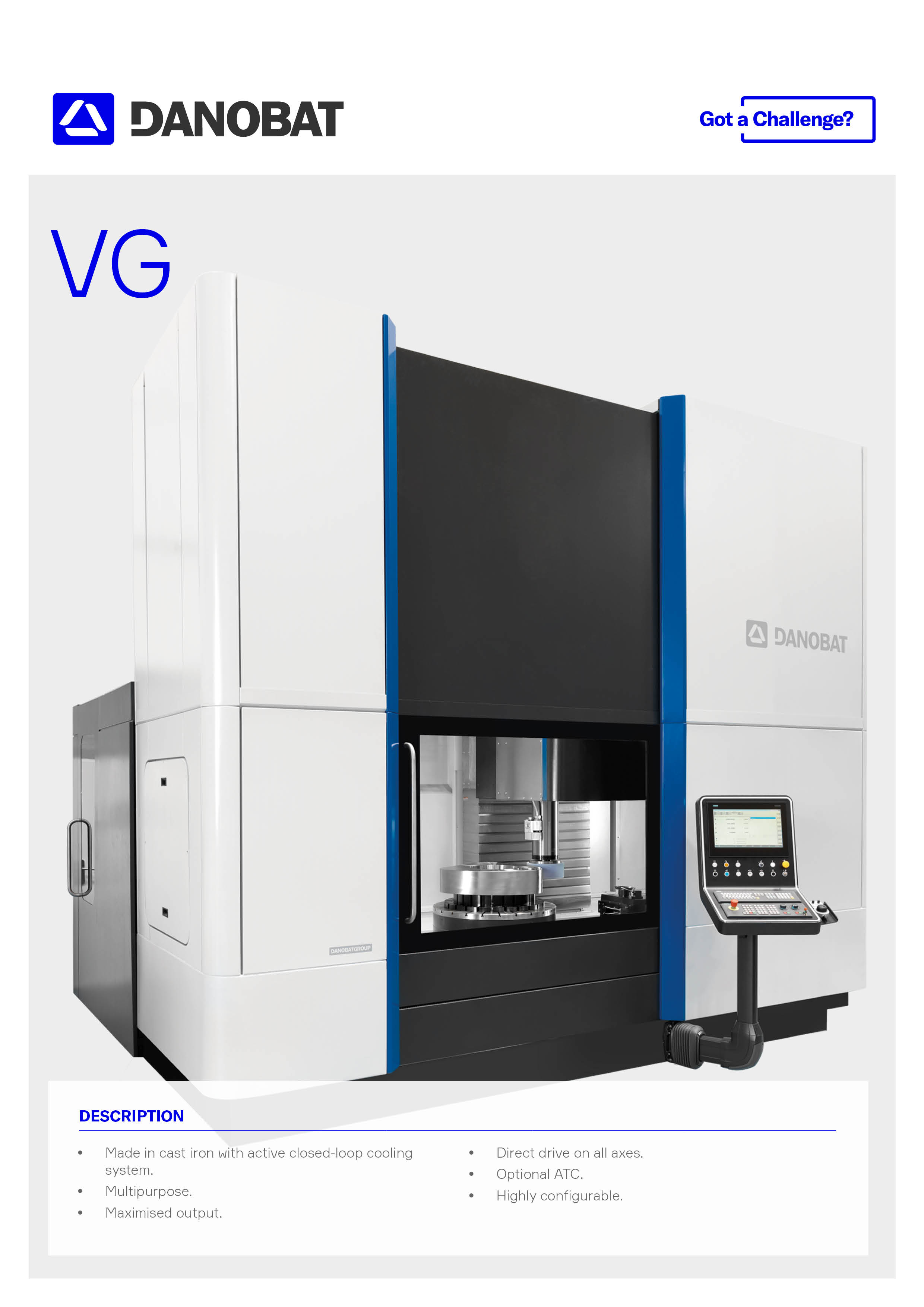 Vertical grinding and measuring solution