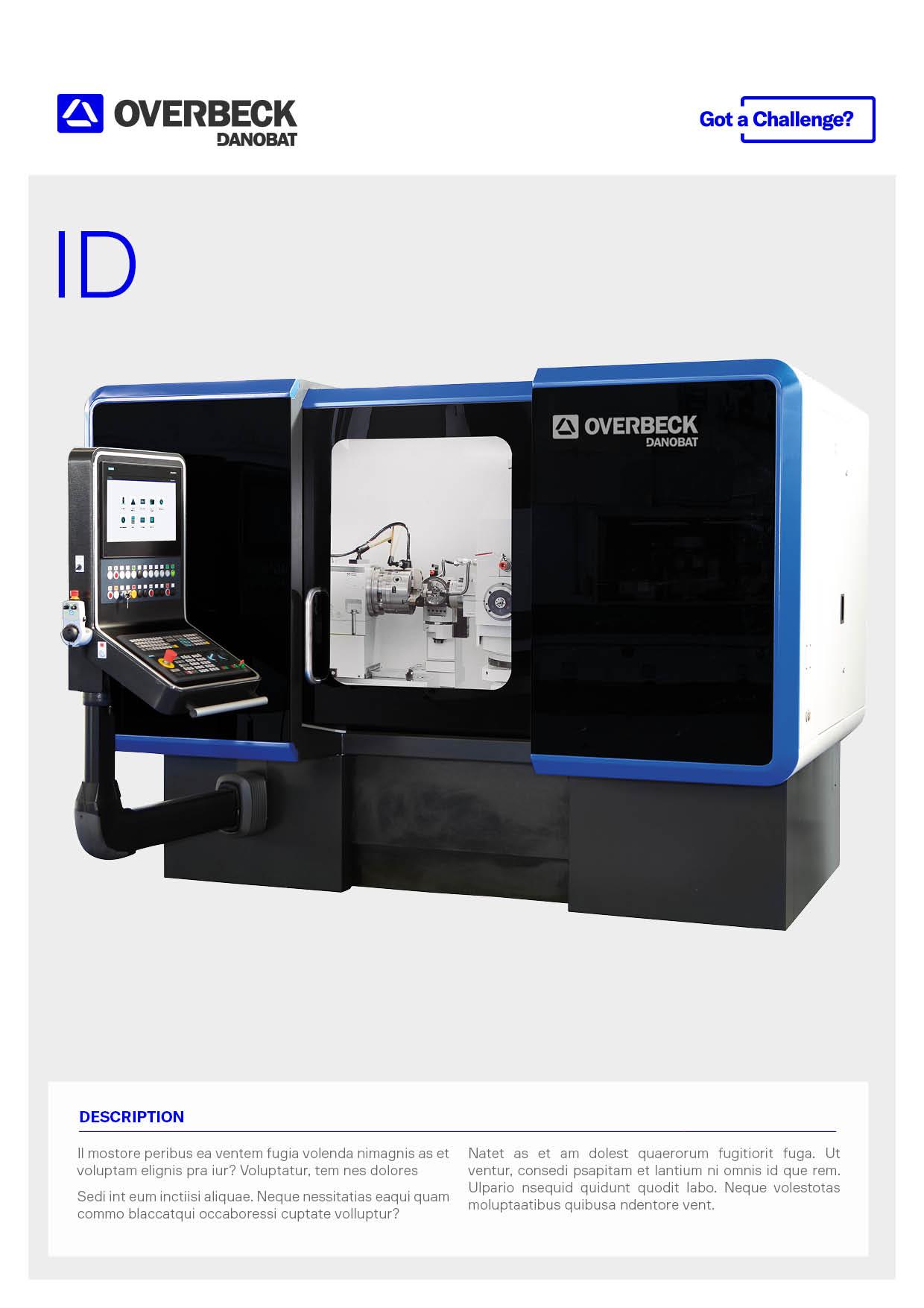 2020_Internal, external and face grinding machine