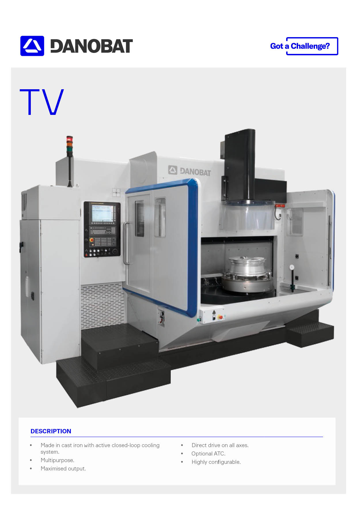2019_Vertical lathe for mahcine wheels up to 24