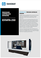 ESTARTA-175 / ESTARTA-250 Centerless Grinding Machine