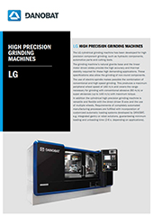 DANOBAT LG - OD Grinding machine