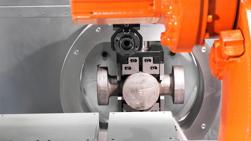 VC -  lathe for valves