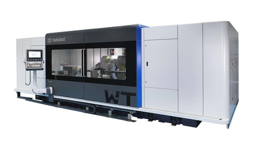 WT - Universal heavy-duty grinding with cross-spindle configuration